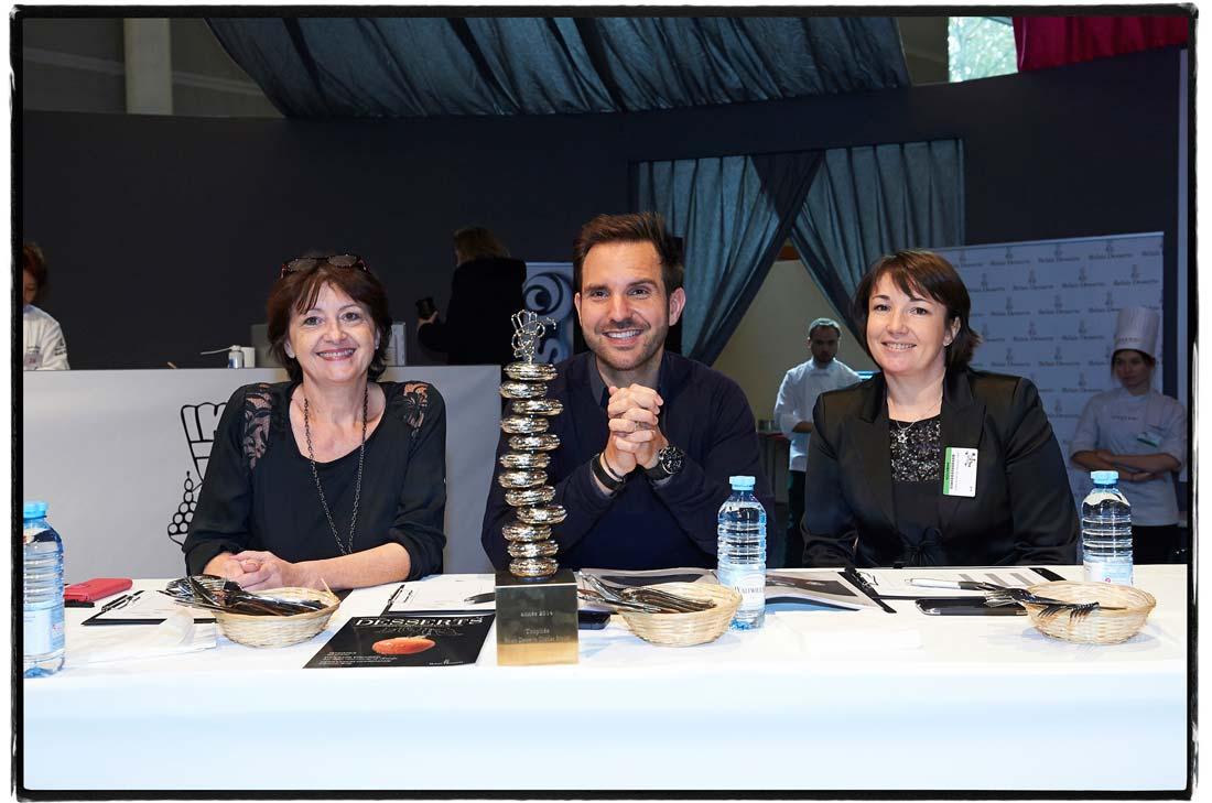 Trophée Relais Desserts Charles Proust 2014 avec Sophie Seïté et Christophe Michalak