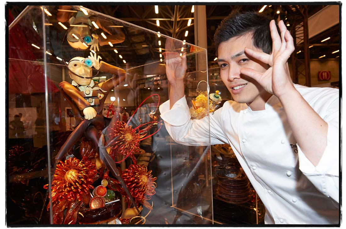 le candidat arrivé en seconde position au Trophée Relais Desserts 2014 : Takishima