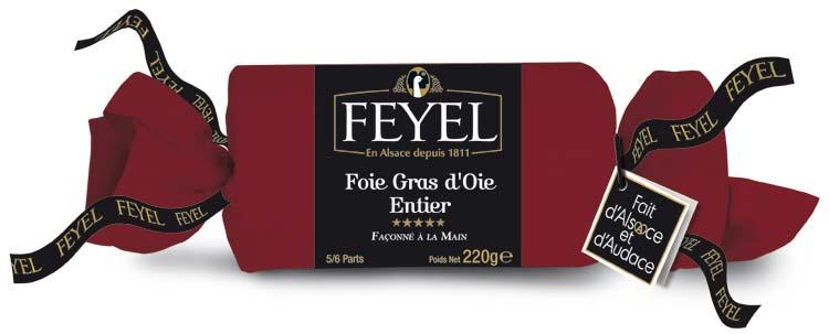 Foie gras d'oie au torchon