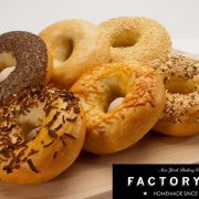 Pains à bagels Factory and co