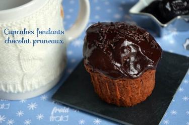cupcakes fondants chocolat pruneaux