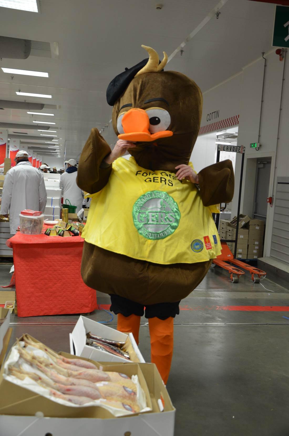 Le foie gras gers présent à Rungis