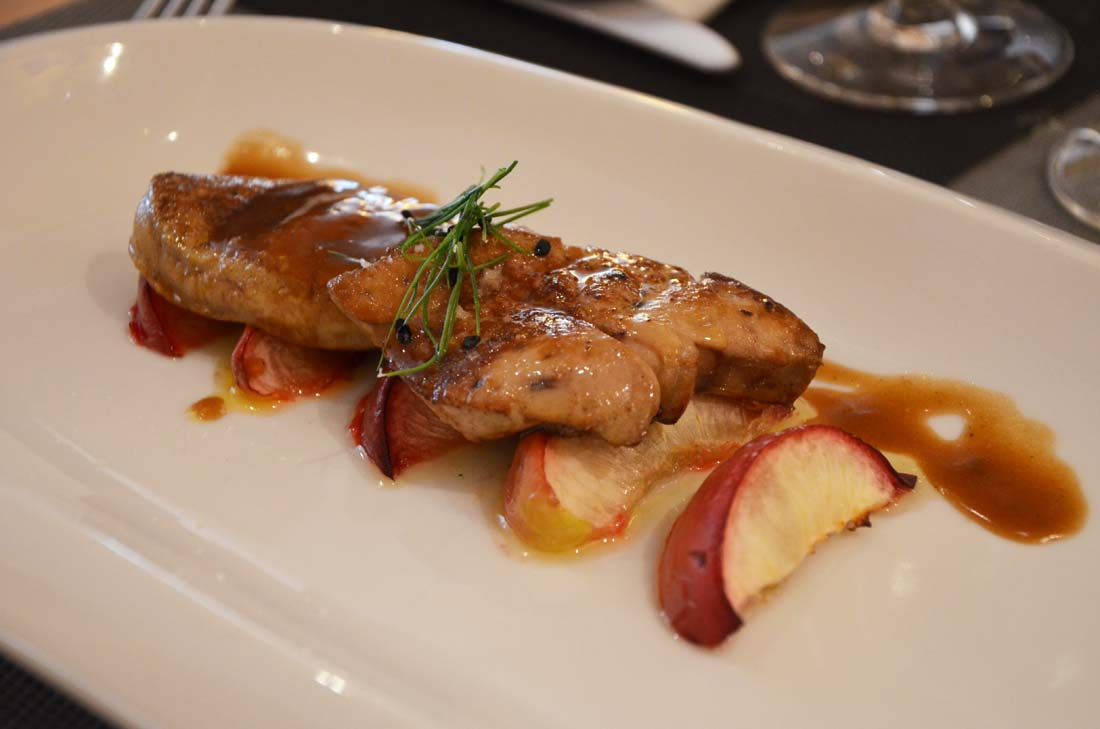 foie gras poêlé maison Artzner