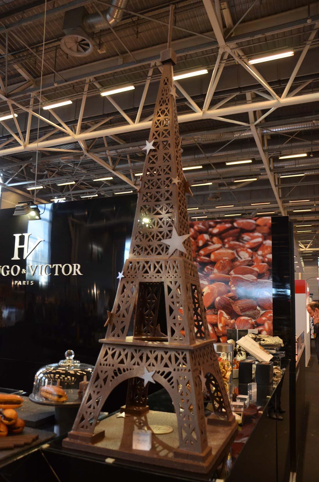 Tour Eiffel en chocolat Hugo et Victor