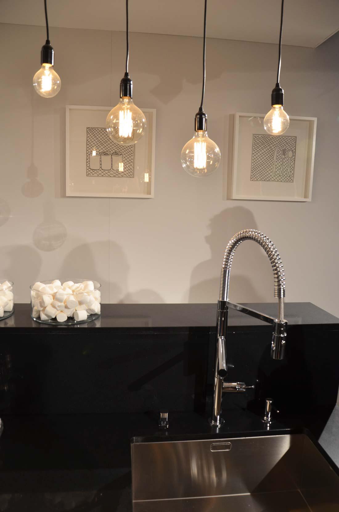 douchette dans une cuisine Lapeyre
