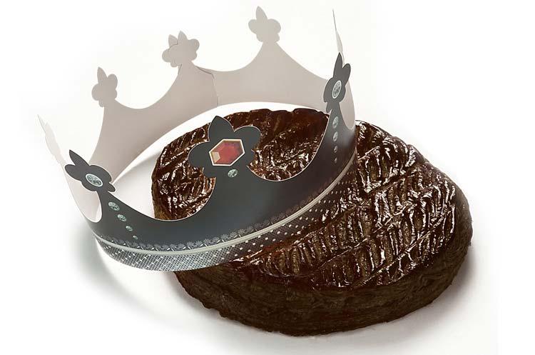 Ma sélection de galettes des Rois 2015 : galette des Rois au chocolat de Vincent Guerlais