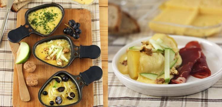 quels ingrédients pour agrémenter sa raclette