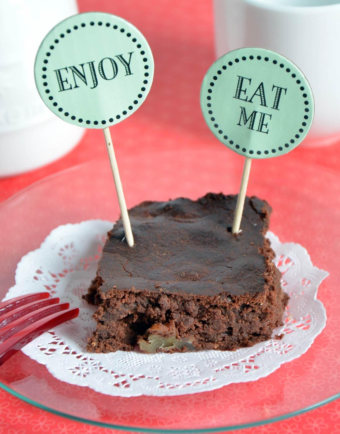 Brownies pralinés au chocolat