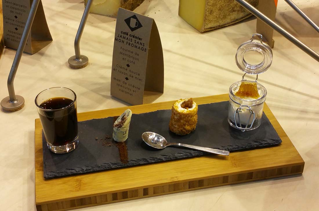 café gourmand fromager