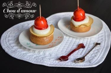 chou d'amour pomme caramel de Philippe Urraca