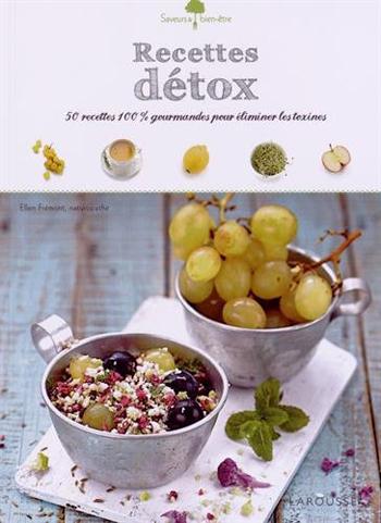 Ellen Fremont recettes detox