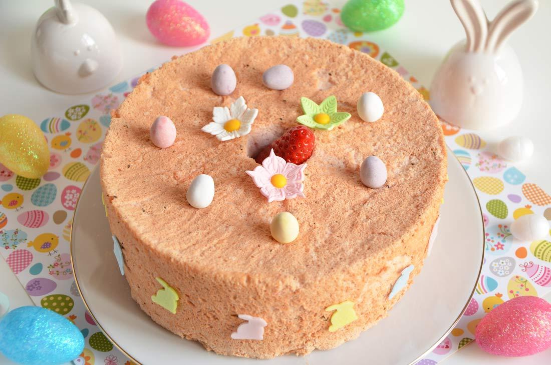 angel cake de Pâques