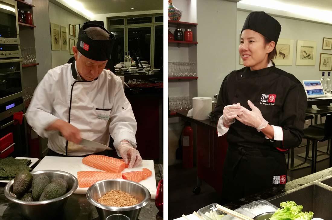 Kelly Shoi et Yamamoto San