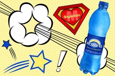 rozana, une eau riche en magnésium
