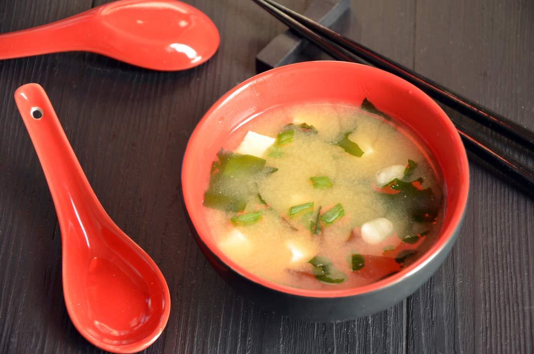 Soupe miso maison - Soupe miso ingredient ...