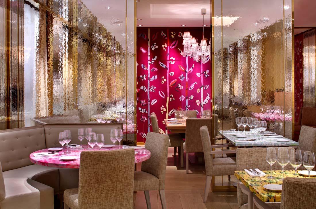 salle du restaurant pour le Tea Time au 68 Guy Martin by Guerlain