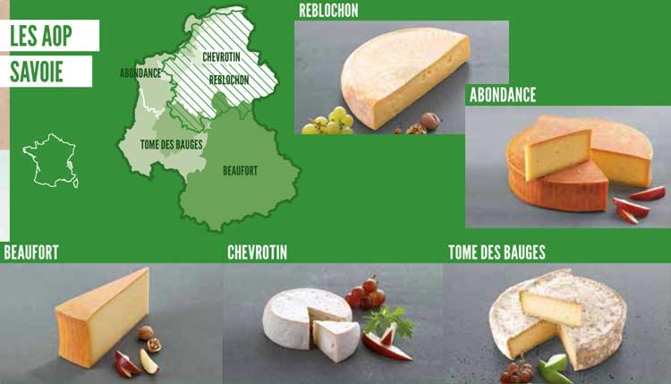 fromages Aop de Savoie