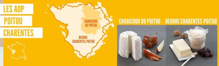 fromages Aop Poitou Charente