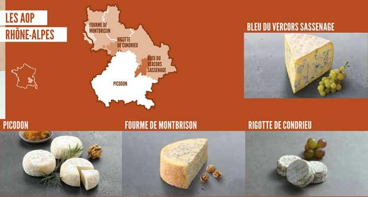 Fromages AOP Rhône Alpes