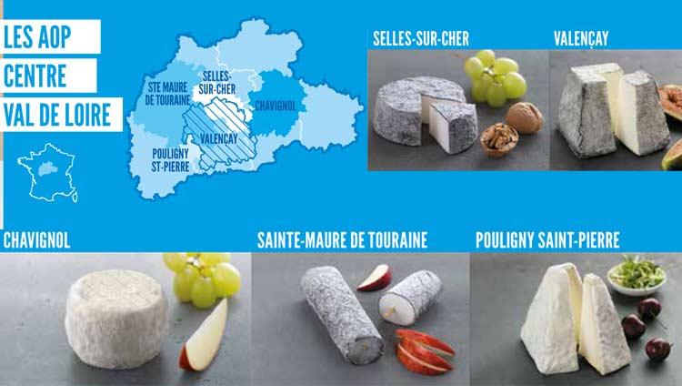 fromages Aop Centre Val de Loire