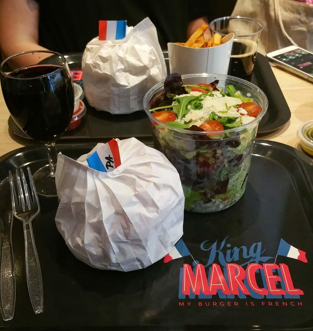 Burgers du king marcel