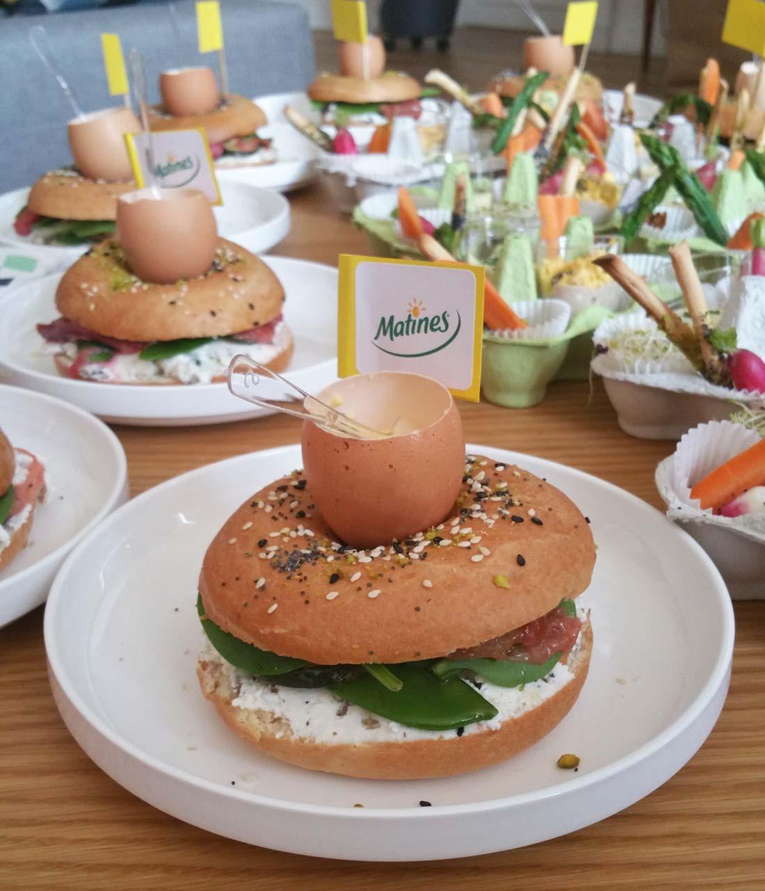 bagel Matines par Miit Studio