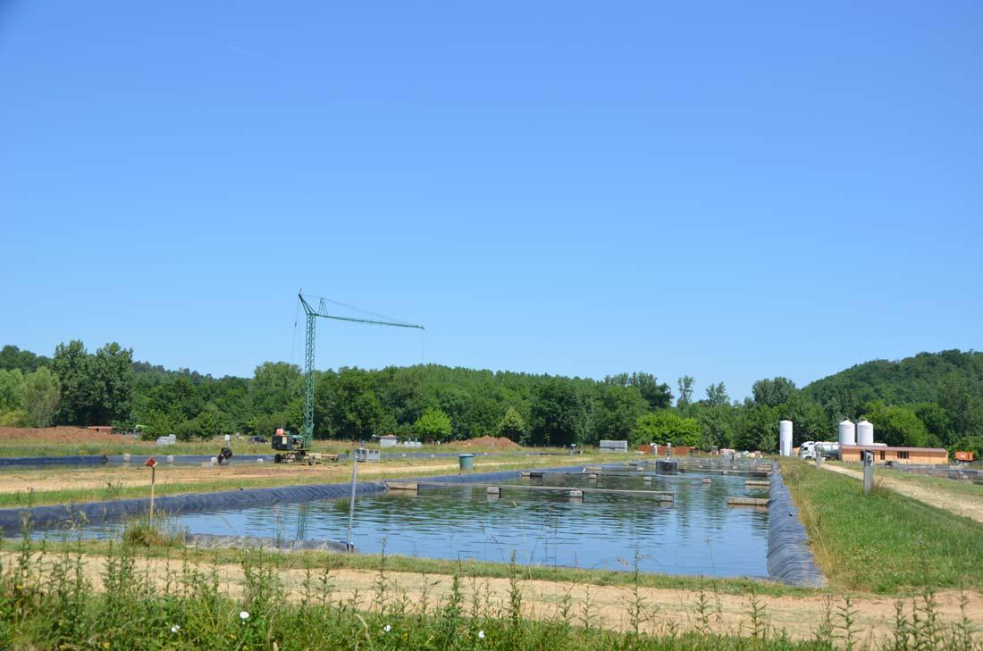bassin du domaine d'Huso à Neuvic