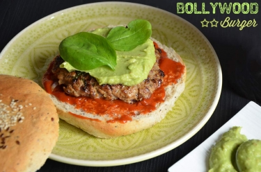 Bollywood burger