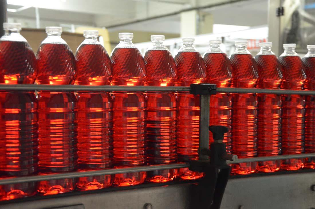 bouteilles de vinaigre