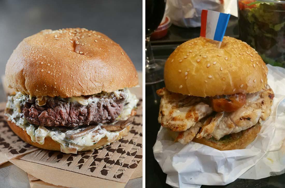 burgers restaurant King Marcel