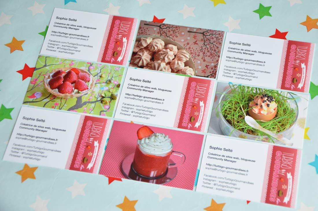 Cartes De Visite Moo Pour Turbigo Gourmandises