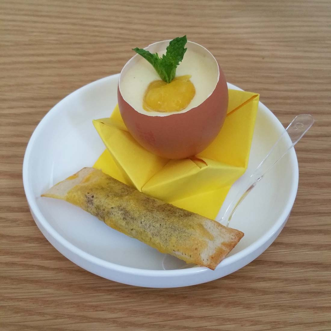 dessert sweet egg Matines