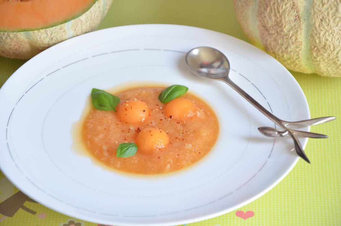 gaspacho de melon frais