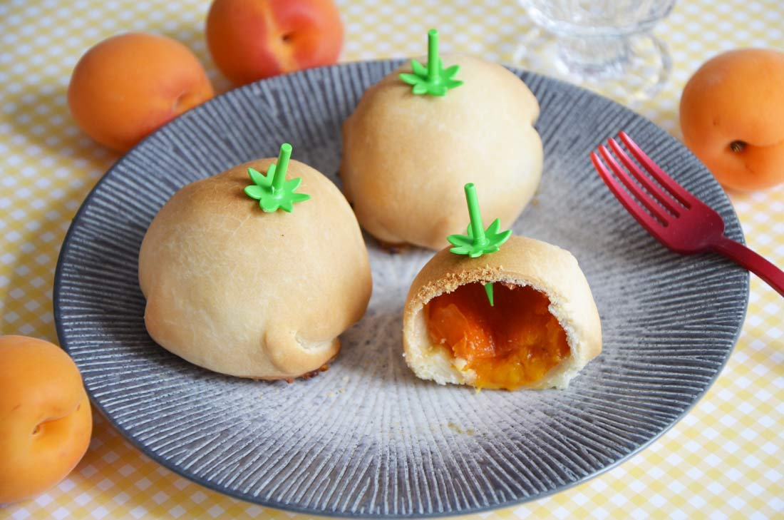 mini tourtes à l'abricot