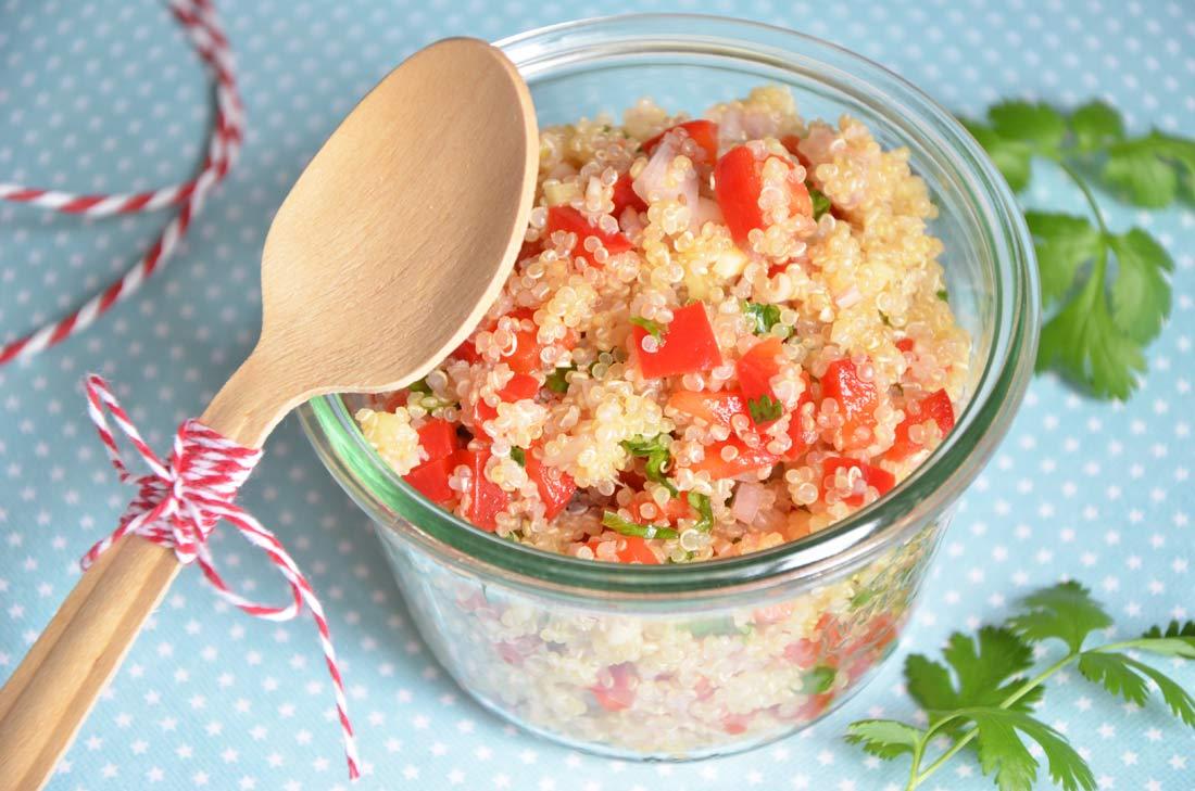 taboulé de quinoa à la thaïe facile à faire