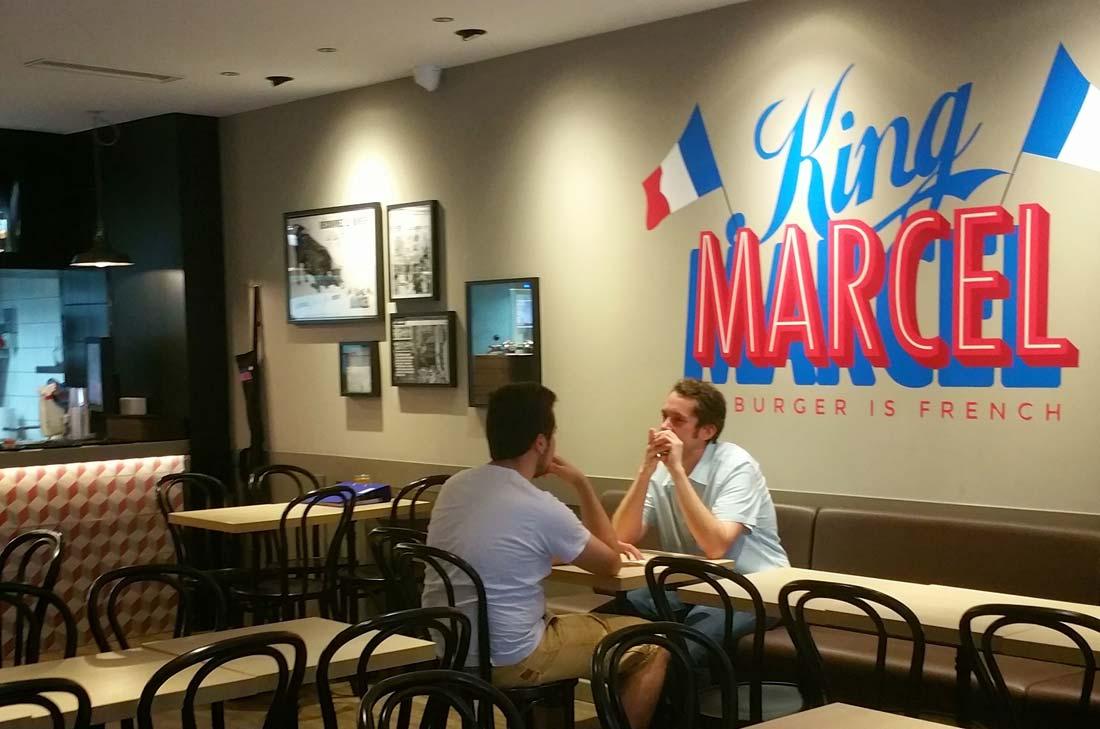 restaurant King Marcel à Paris