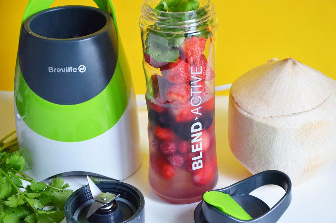 smoothies fruits rouges coriandre