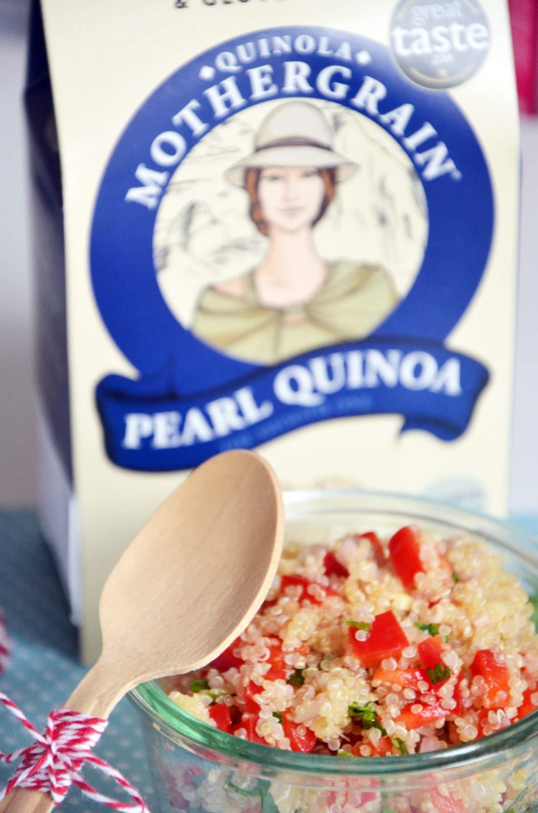 délicieux taboulé de quinoa à la thaïe