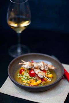 La salsa du lapin Loeul et Piriot chez La Cuisine de Ion