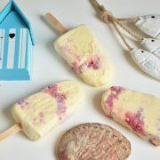 esquimaux vanille framboises