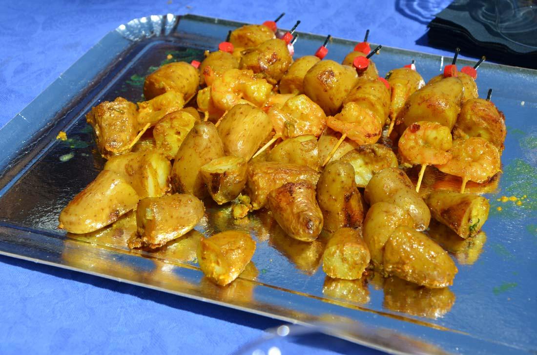 rattes du Touquet cuisinées