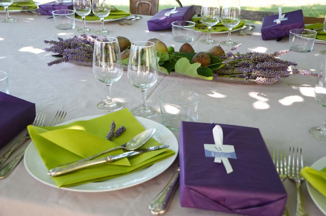 table repas Reflets de France