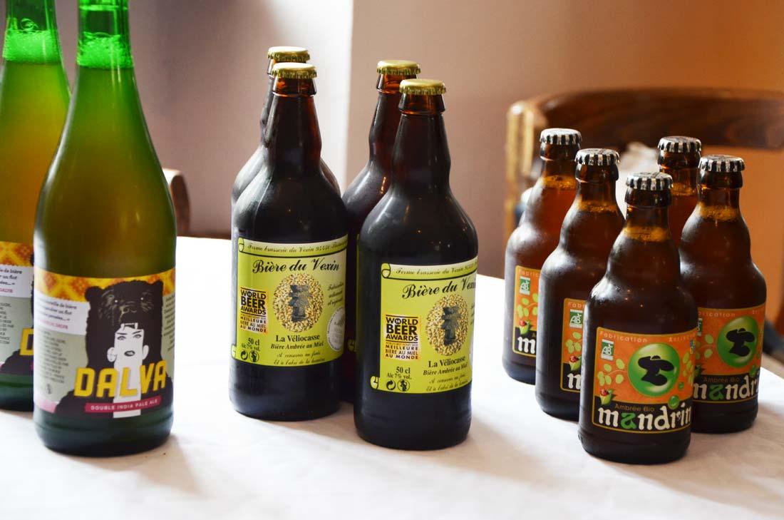 choix de bières sélectionnées par Elisabeth Pierre