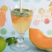 Cocktail Cointreau fizz melon menthe