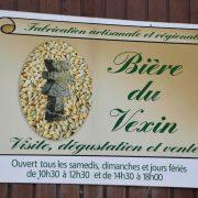 fabrication de la bière du Vexin