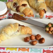 mini croissants nutella noisettes