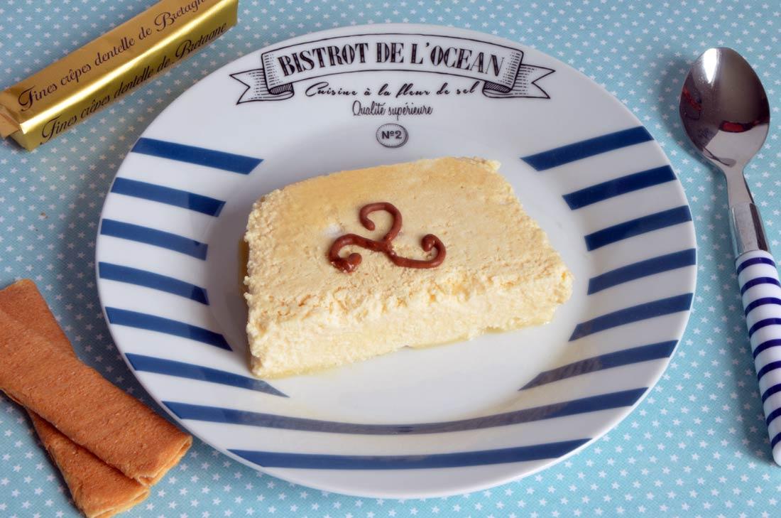 Mousse glacée au caramel au beurre salé