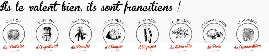 Légumes franciliens