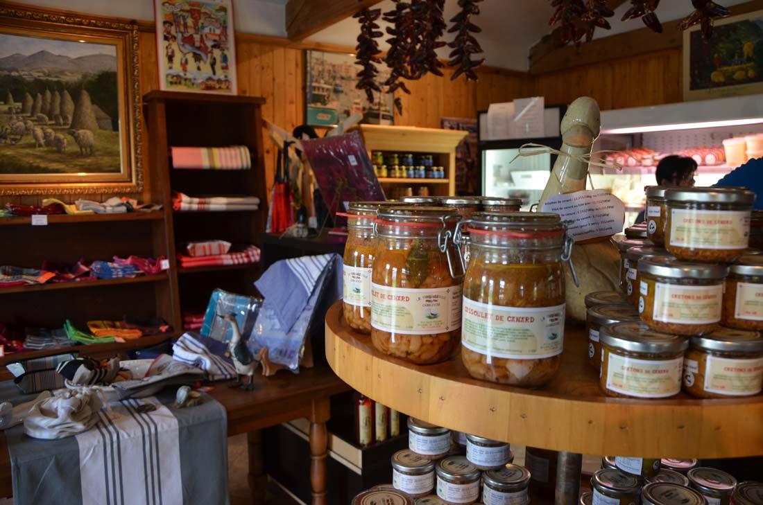 Boutique de la Ferme Basque de Charlevoix