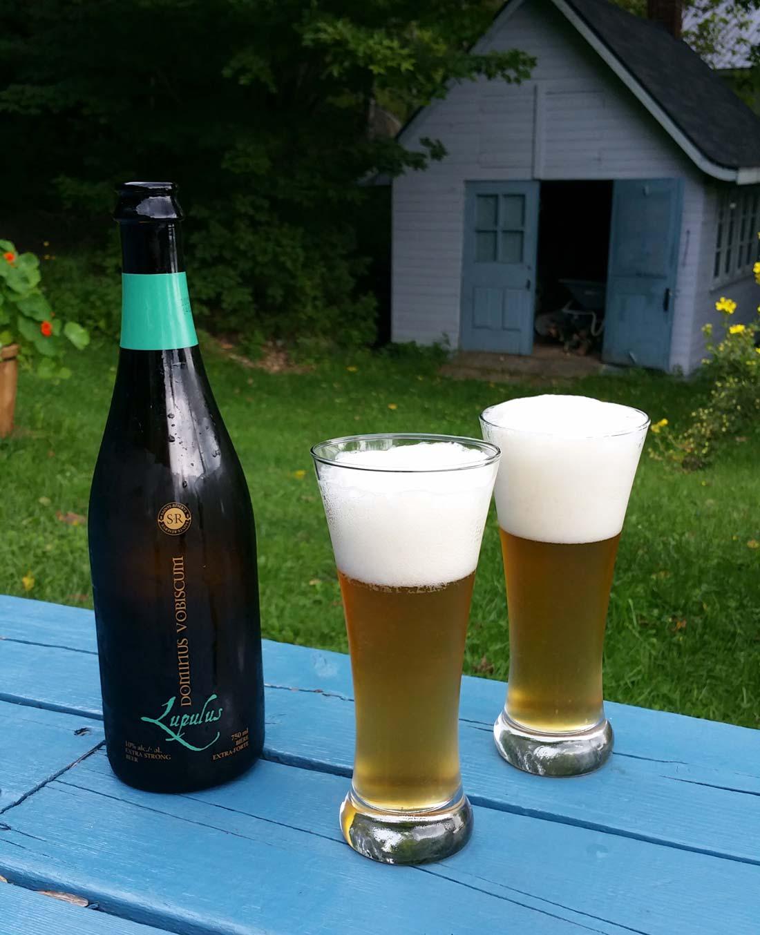 Bière Lupulus microbrasserie de Charlevoix